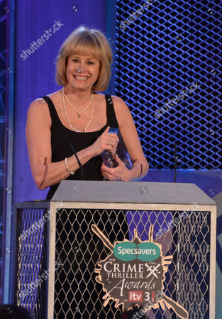 Stock Picture of The Specsaver Bestseller Award winner author Kathy Reichs