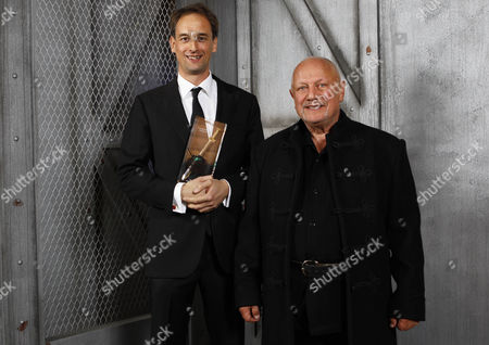 The CWA Ian Flemming Steel Dagger Award was presented to Author Charles Cumming by Steven Berkoff