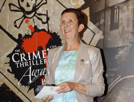 Author Ann Cleeves who was inducted into the Crime Thriller Hall of Fame
