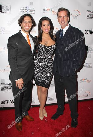 Stock Photo of Dr Andrew Jacono, Erin Sharoni, Chris Robbins