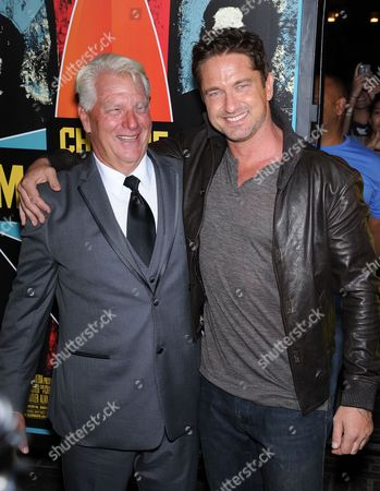 Frosty Hesson and Gerard Butler