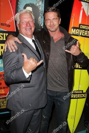 Editorial photo of 'Chasing Mavericks' film premiere, Los Angeles, America - 18 Oct 2012