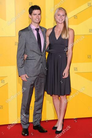 Luke Gunn and Hannah England