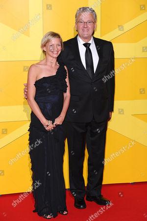 Peter Eriksson and Sophia Warner