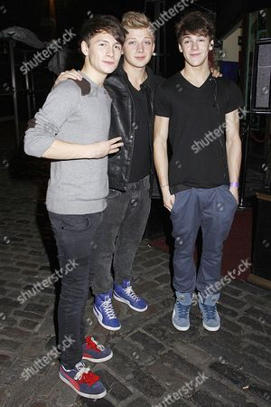 Editorial image of X Factor contestants out and about, London, Britain - 18 Oct 2012