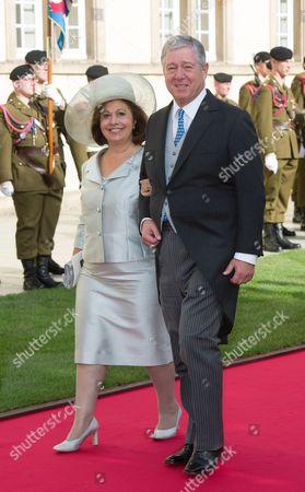 Crown Princess Katherine and Crown Prince Alexander