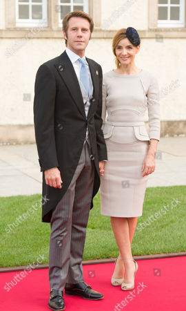 Prince Emanuele Filiberto and Clotilde Courau