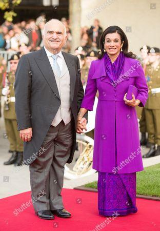 Prince Hassan bin Talal and Princess Sarvath El Hassan