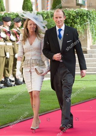 Editorial photo of The wedding of Hereditary Grand Duke Guillaume and Countess Stephanie de Lannoy, Notre Dame Cathedral, Luxembourg - 20 Oct 2012