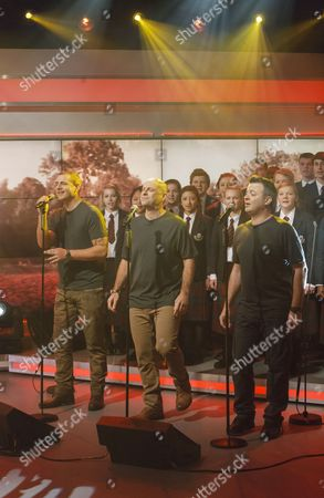 Editorial image of 'Lorraine Live' TV Programme, London, Britain - 22 Oct 2012