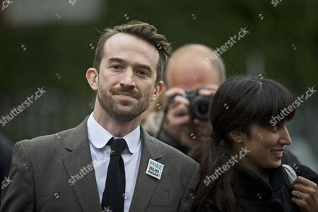 Editorial image of Trenton Oldfield at Isleworth Crown Court in London, Britain - 19 Oct 2012