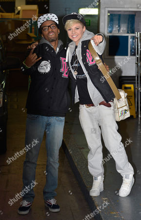 Editorial picture of Celebrities outside the ITV studios, London, Britain - 22 Oct 2012