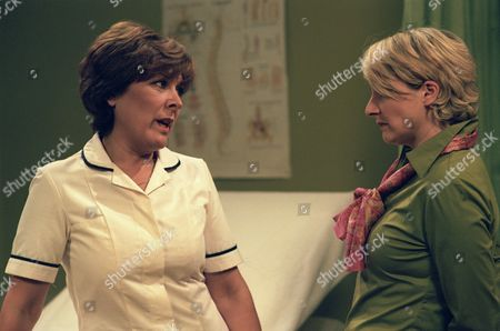 Lynda Bellingham and Emma Kennedy