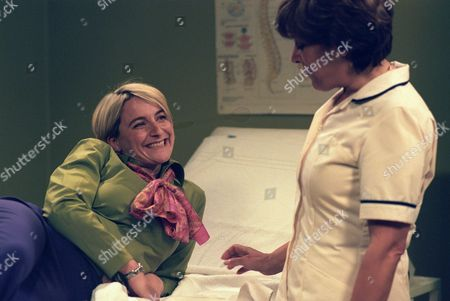 Emma Kennedy and Lynda Bellingham