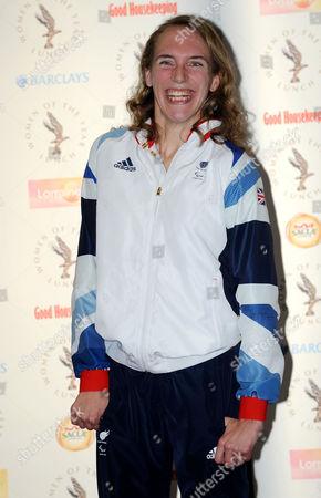 British equestrian paralympian Sophie Christiansen