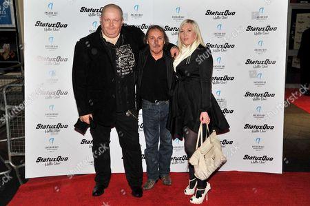 Editorial image of Hello Quo! film screening, Leicester square, London, Britain - 22 Oct 2012