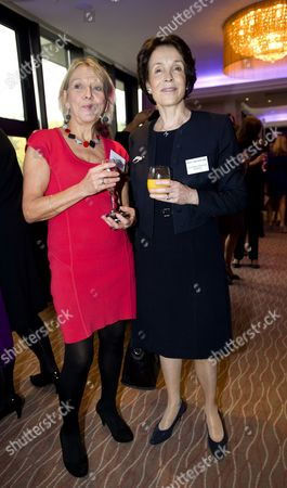 Stock Picture of Dotti Irving with Lady Mary Archer