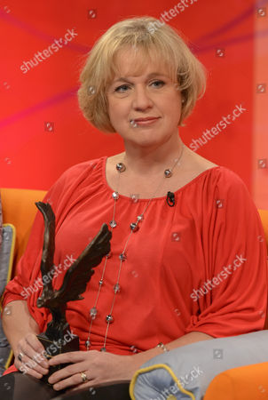 Editorial photo of 'Lorraine Live' TV Programme, London, Britain - 23 Oct 2012