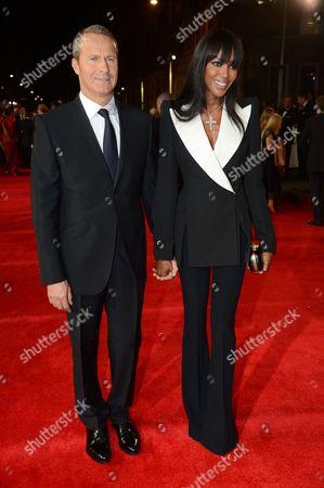 Stock Photo of Vladislav Doronin and Naomi Campbell