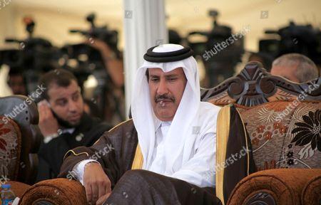 Editorial photo of Emir of Qatar meets Hamas leaders in Gaza Strip, Palestinian Territories - 23 Oct 2012
