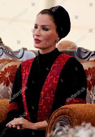 Qatar's First Lady Sheikha Mozah Bint Nasser Al Missned