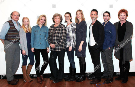 Peter Friedman, Sarah Goldberg, Joyce Van Patten, Amy Herzog, Carolyn Cantor, Jeremy Strong, Keith Nobbs and Becky Ann Baker