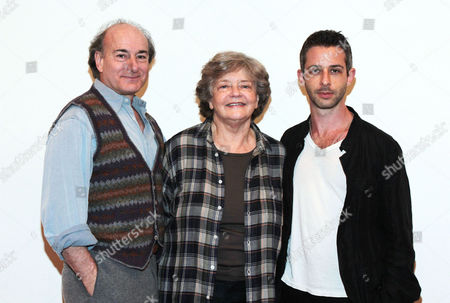 Stock Photo of Peter Friedman, Joyce Van Patten and Jeremy Strong