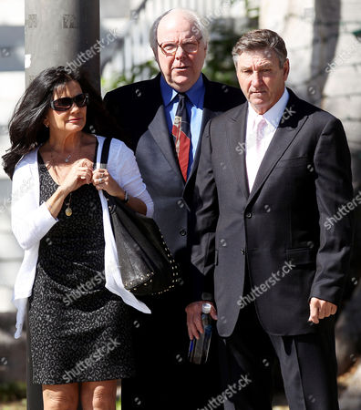 Lynne and Jamie Spears return to the Los Angeles County Court House after lunch