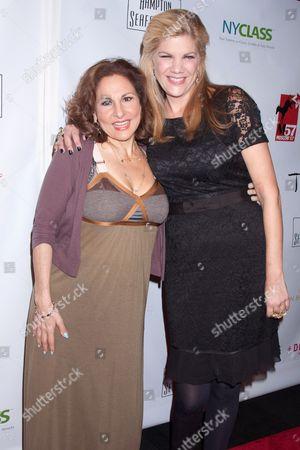 Kathy Najimy and Kristen Johnson