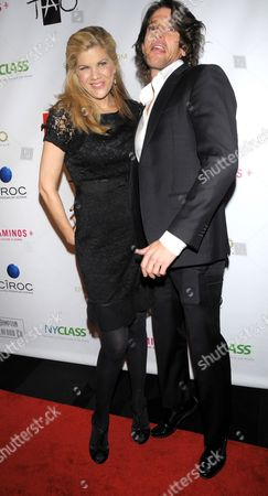 Kristen Johnston and guest