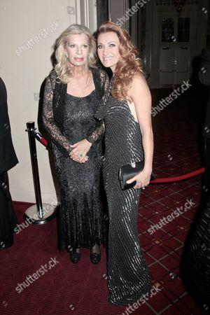 Princess Yasmin Aga Khan and Jane Seymour