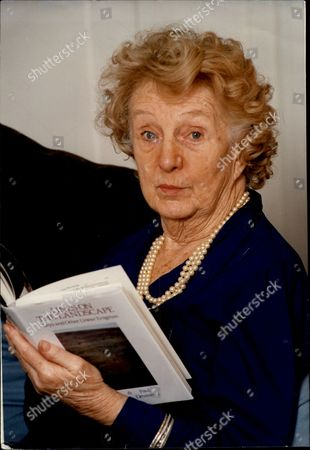 Actress Joan Hickson At Her Essex Home.