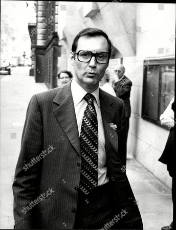 David Holmes Of The Liberal Party Who Is Charged At The Old Bailey With Jeremy Thorpe George Deakin And John Le Mesurier Of Conspiracy To Murder Norman Scott.