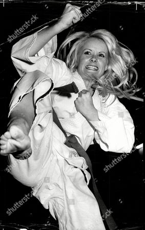 Linda Cunningham Actress And Karate Expert.