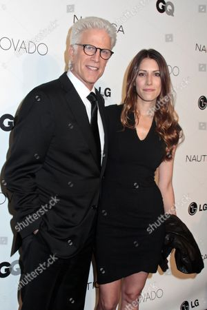 Stock Photo of Ted Danson and daughter Kate Danson