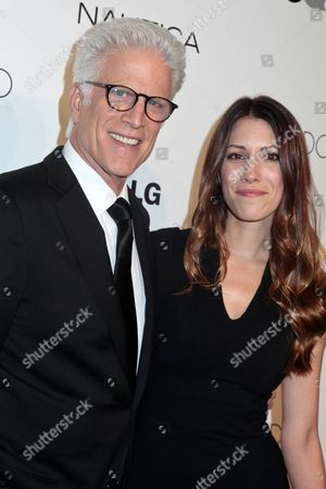 Stock Image of Ted Danson and daughter Kate Danson