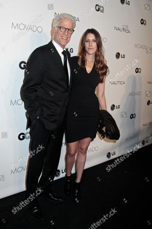Stock Picture of Ted Danson and daughter Kate Danson