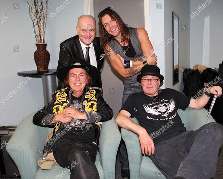 Clockwise - Peter Dickson, Soren Anderson, Nigel Dutton (organiser) and Dave Hill