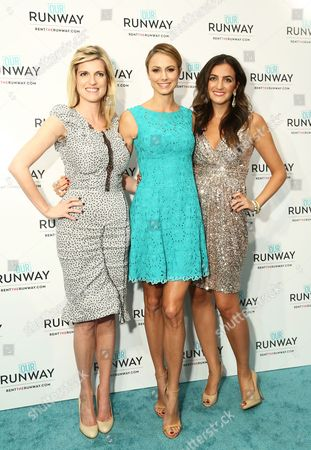Stock Photo of Lucy Sykes Rellie, Stacy Keibler and Jennifer Hyman