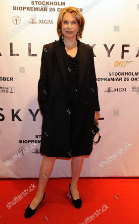 Editorial picture of 'Skyfall' film premiere, Stockholm, Sweden - 24 Oct 2012