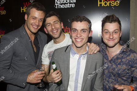 Editorial picture of 'War Horse' 5th anniversary performance after party, London, Britain - 25 Oct 2012