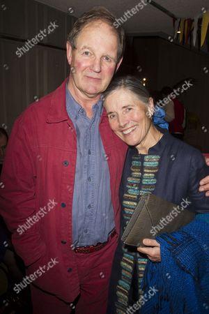 Stock Photo of Michael Morpurgo and Clare Morpurgo