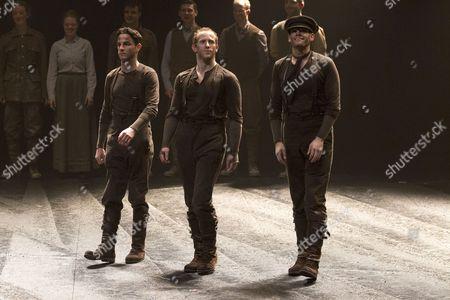 Derek Arnold (Topthorn Hind), Owain Gwynn (Topthorn Heart) and Curtis Jordan (Topthorn Head/Goose)