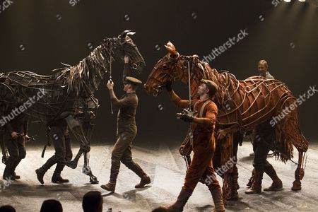Editorial picture of 'War Horse' 5th anniversary performance, London, Britain - 25 Oct 2012