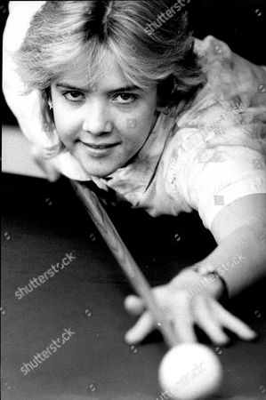 Snooker Player Allison Fisher.