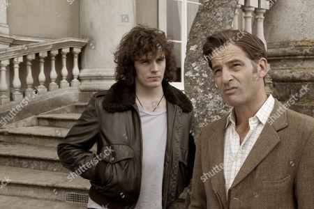 Sam Claflin as Jack and Jeremy Northam as Edward