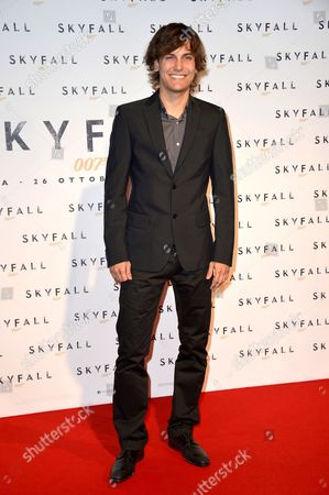 Editorial image of 'Skyfall' film premiere, Rome, Italy - 26 Oct 2012