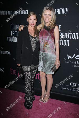 Stock Photo of Dedee Pfeiffer and Michelle Pfeiffer