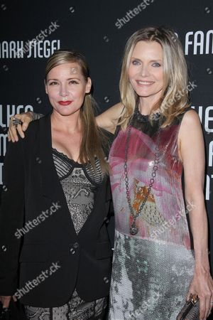 Stock Image of Dedee Pfeiffer and Michelle Pfeiffer