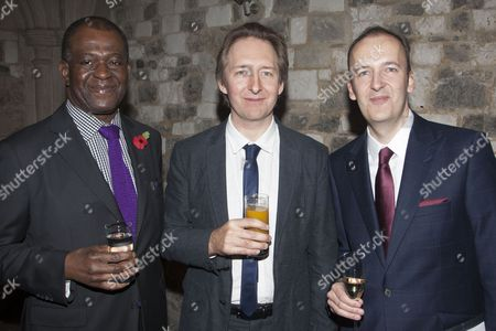 Baz Bambigoye, Jonathan Church and Julian Bird